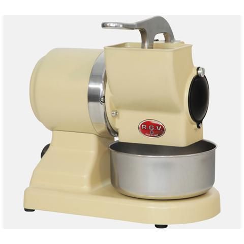 MAXIVIP8GSAVORIO Grattugia Professionale Potenza 370 Watt Rullo in Acciaio Inox