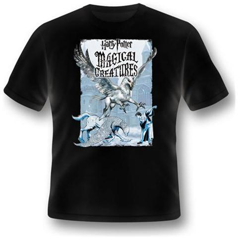 2BNERD Harry Potter - Magical Creatures Buckbeak (T-Shirt Unisex Tg. L)