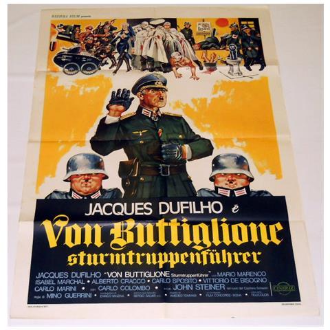 Vendilosubito Manifesto Originale Del Film Von Buttiglione Sturmtruppenfuhrer