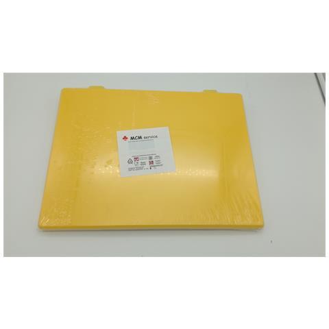 Taglieri In Polietilene Giallo 40x30x2 Con Fermi