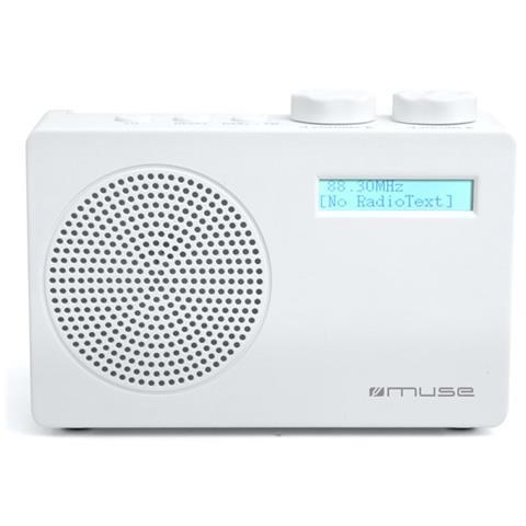 Muse M-100 DW, Portatile, LCD, Digitale, DAB, DAB+, FM, USB, Blu