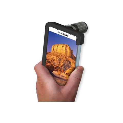 Carson HookUpz 7x18 CloseUp Monokular con Samsung adattatore