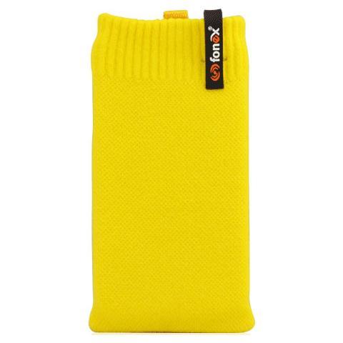 FONEX Feet Plus Fondina in Cotone Elasticizzato Taglia M Colore Giallo