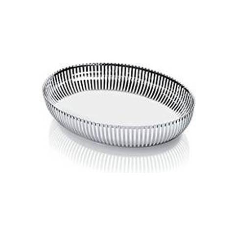 Global Cestino ovale pierre acciaio inox 26cm