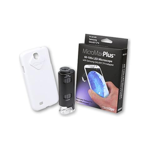 Carson MM-240 microscopio con adattatore Samsung Galaxy S4