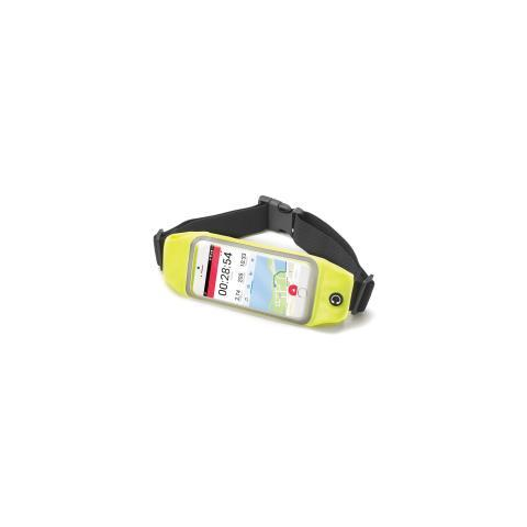 "CELLY Runbelt Cintura elastica per smartphone da 5.5"" colore Giallo"