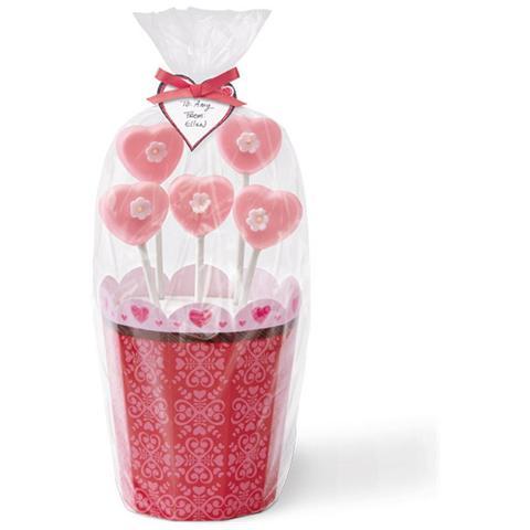 2 Scatole Porta Lolli Pops San Valentino