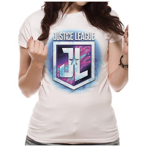 CID Justice League Movie - Purple Shield (T-Shirt Unisex Tg. 2Xl)