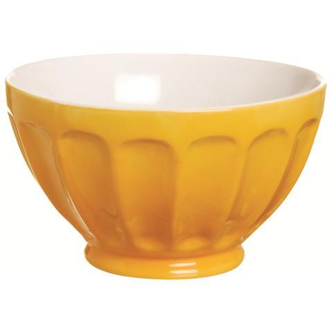 Scodella Costolata Grande Happy Color Arancione 14,5 cm