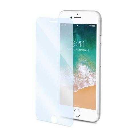 CELLY Pellicola Protettiva in Vetro Temperato per Iphone 8 Plus