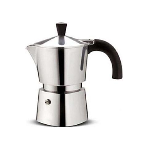 Caffettiera brava 6 tazza alluminio