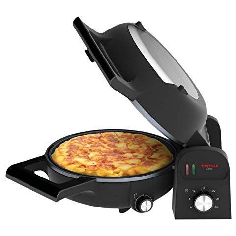 Tortilla Chef Piastra Potenza 1300 Watt