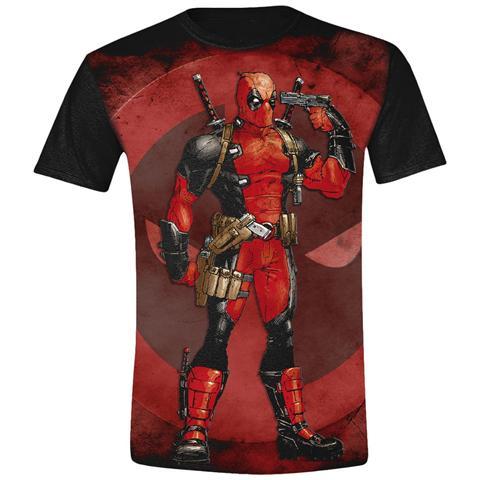 TimeCity Deadpool - Gun To The Head (T-Shirt Unisex Tg. XL)