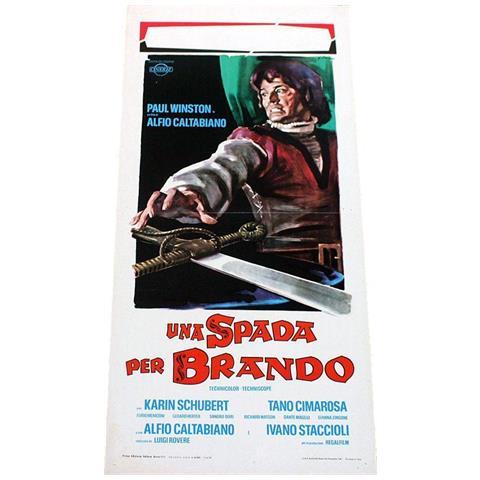 Vendilosubito Locandina Originale Del Film Una Spada Per Brando 1970 Raro
