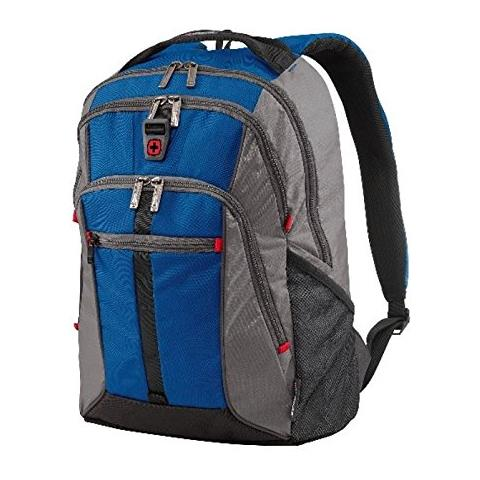Wenger Lycus 15,6 Laptop Rucksack blau / grau