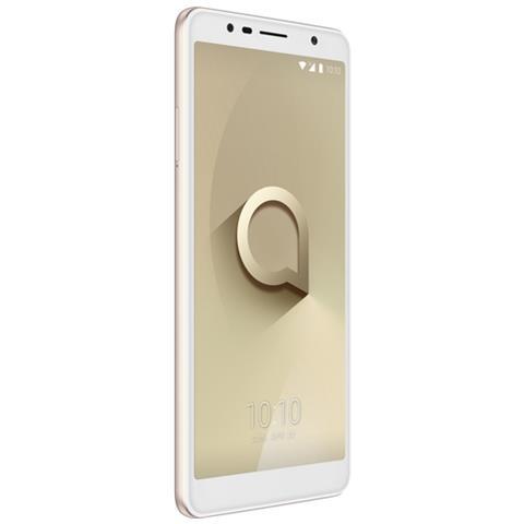 """ALCATEL 3C Oro 16 GB Display 6"""" HD+ Slot Micro SD Fotocamera 13 Mpx Android Italia"""