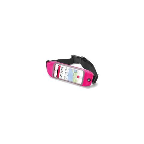 "CELLY Runbelt Cintura elastica per smartphone da 4.7"" colore Rosa"