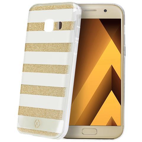 CELLY Custodia per Galaxy A3 Colore Oro