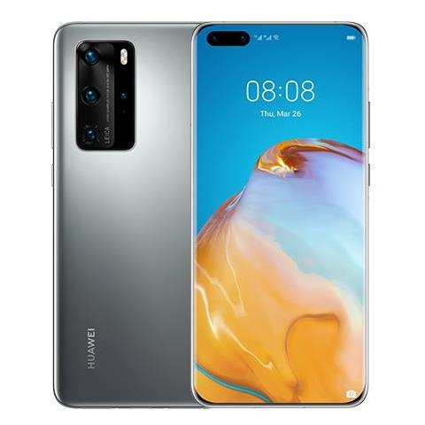 Image of P40 Pro Argento 256 GB 5G Dual Sim Display 6.58'' Full HD+ Slot Nano SD Fotocamera 50 Mpx Android Tim Italia