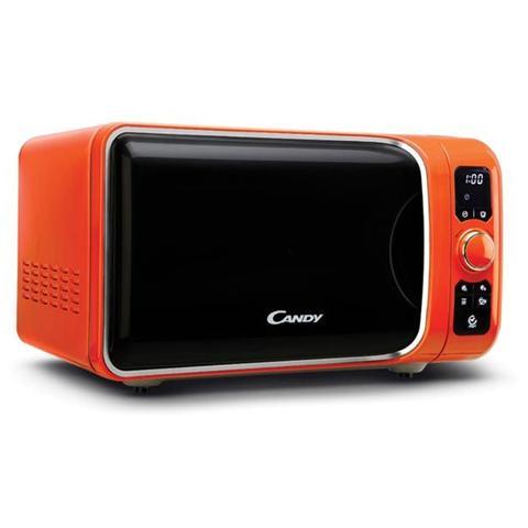 EGO-G25DCO Forno Microonde Ego Style Potenza Massima 900 Watt Potenza Grill 1000 Watt Capacità 25 Litri Colore Arancione