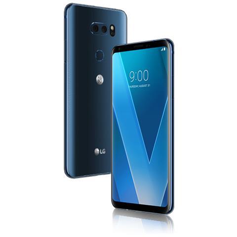 "LG V30 Blu Impermeabile Display 6"" Quad HD Ram 4GB Storage 64GB +Slot MicroSD Wi-Fi + 4G Fotocamera 16Mpx Android - Tim Italia RICONDIZIONATO"
