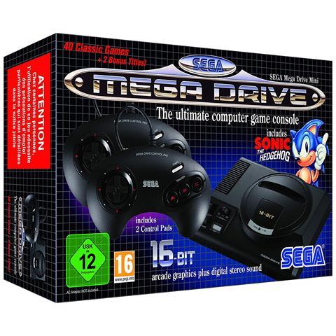SEGA [ Ricondizionato GOLD] Mega Drive Mini