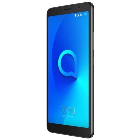 """ALCATEL 3C Nero 16 GB Display 6"""" HD+ Slot Micro SD Fotocamera 13 Mpx Android Italia"""