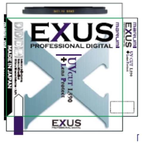 EXS77UV Ultravioletto (UV) 77mm camera filters