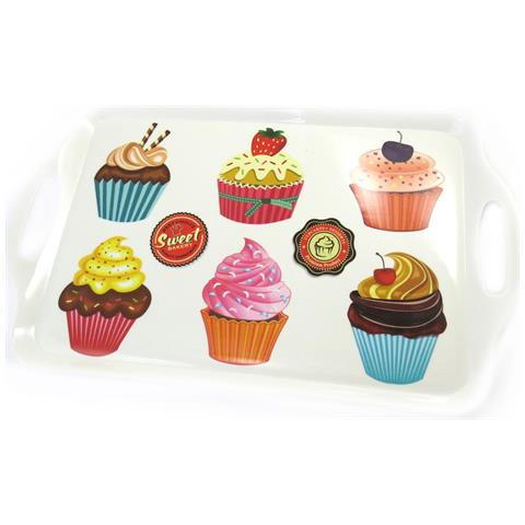 grande vassoio 'cupcakes' - [ l8858]