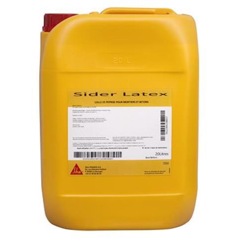 Sider Latex Mortar E Resina Per Calcestruzzo - Bianco - 20l