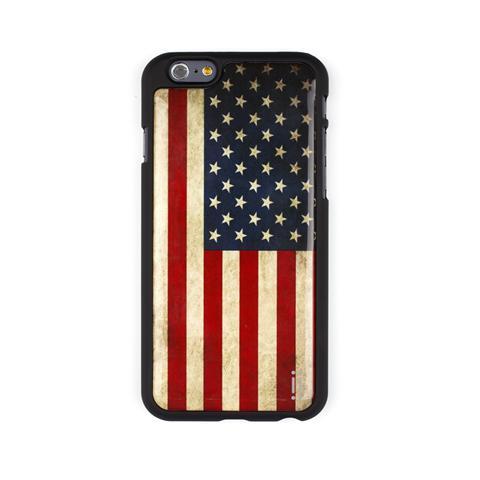 AIINO Custodia Gel Sticker per iPhone 6 - Bandiera USA