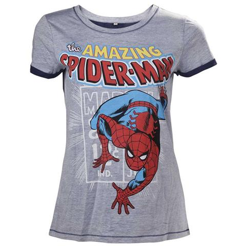 BIOWORLD Marvel - The Amazing Spiderman (T-Shirt Donna Tg. S)