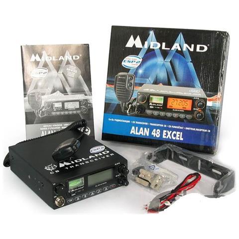 Cb Radio Alan 48 Excel C580.03 12v 4w Am / fm