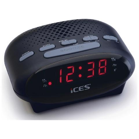 ICES ICR-210, Orologio, LED, FM, PLL