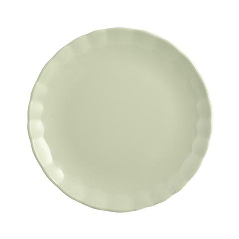 """H&H Set 6 Piatti Frutta Ceramica """"camelia"""" Verde Tableware"""