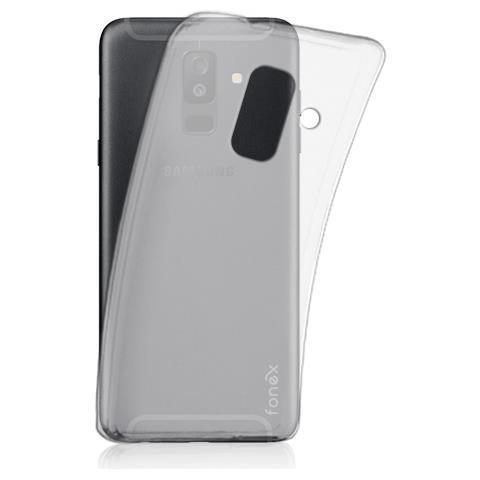 FONEX cover in TPU pixel per Samsung Galaxy a6+ 2018 trasparente