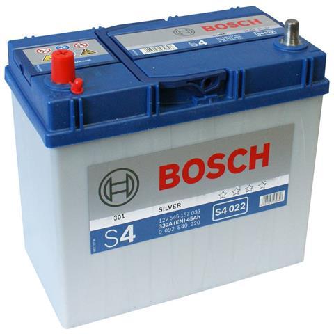 Bosch 092s40220 Batteria Auto S4 45 Ah