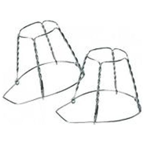 Gabbietta per tappi spumante a 4 fili zincati senza cappello 1 Conf 100 Pz