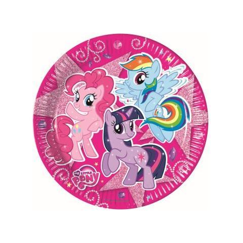 COMO GIOCHI My Little Pony - Sparkle - 8 Piatti 23 Cm