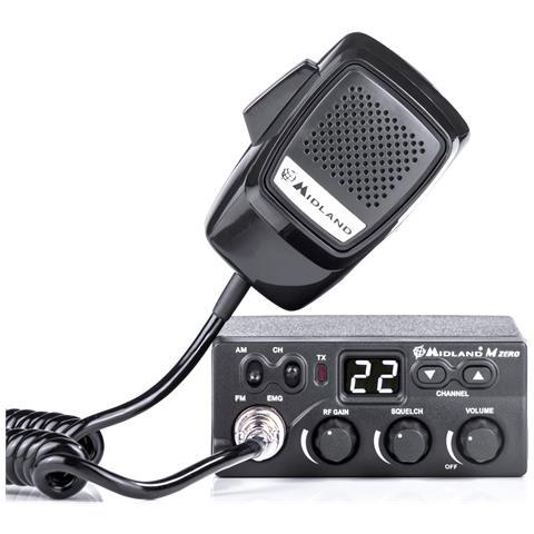 Cb Radio M Zero Plus Cod C1169.01 12v 4w Am / fm Sq