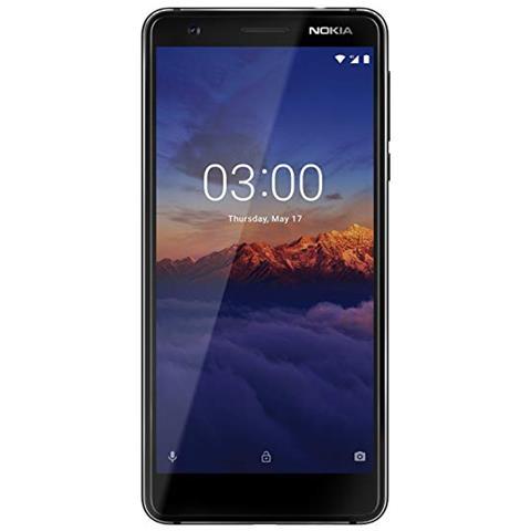 """NOKIA 3.1 Nero 16 GB 4G / LTE Display 5.2"""" Full HD Slot Micro SD Fotocamera 13 Mpx Android Italia"""