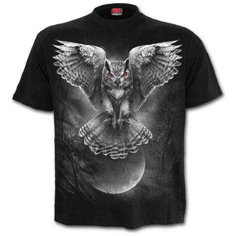 SPIRAL Wings Of Wisdom - T-Shirt Black (T-Shirt Unisex Tg. L)