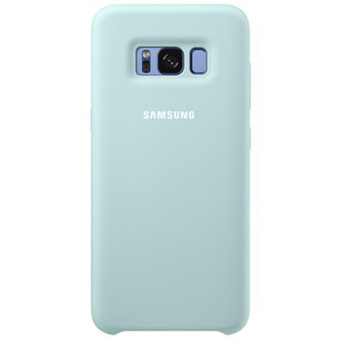 SAMSUNG Cover in Silicone per Samsung Galaxy S8 Grigio Scuro