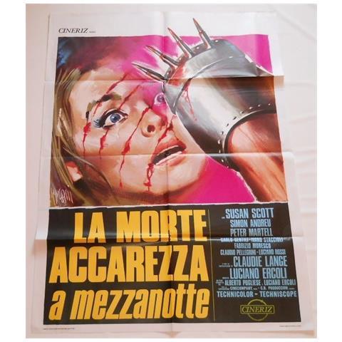 Vendilosubito Manifesto Originale Del Film La Morte Accarezza A Mezzanotte 1972