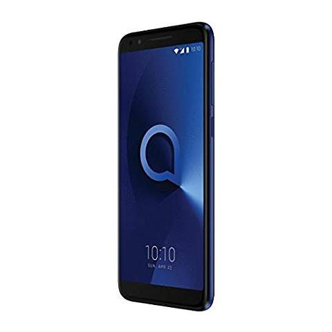 """ALCATEL 3L Blu metallizato 16 GB 4G / LTE Dual Sim Display 5.5"""" HD+ Slot Micro SD Fotocamera 13 Mpx Android Italia"""