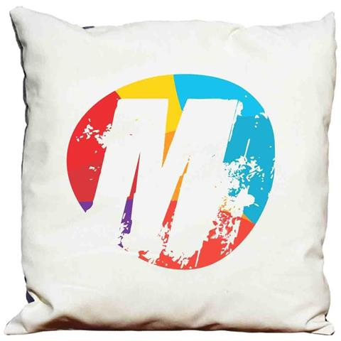Cuscino Decorativo Lettera M