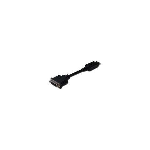 MICROCONNECT DisplayPort-DVI, DisplayPort, DVI-I, Maschio, Maschio, Nero