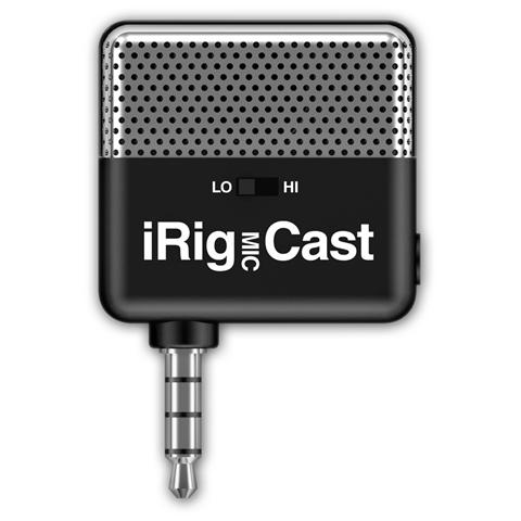 IK MULTIMEDIA iRig Mic Cast Microfono da Podcast per iPhone iPad iPod Android