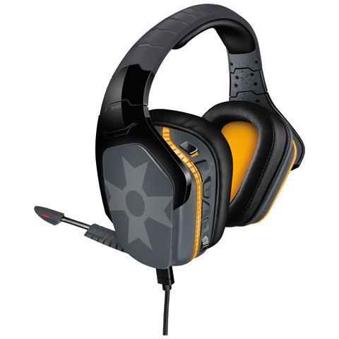 G633 Artemis Spectrum PRO Gaming Cuffia Cablata 7.1, con Microfono per PC / Xbox One / PS4...