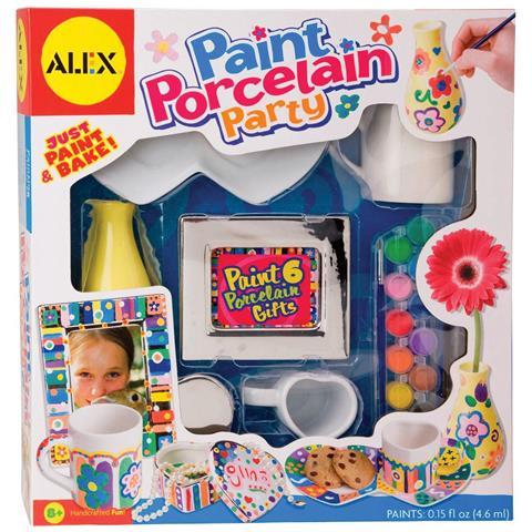 ALEX TOYS Alex Arte E Colori - Paint Porcelain Party